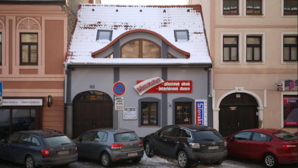 Meštiansky dom v historickom centre mesta Spišská Nová Ves